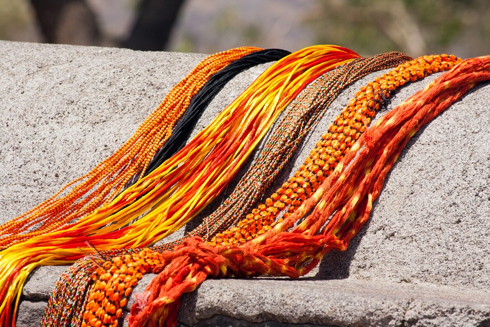 Threads, Fashion, Orange, Beauty, Textile, Craft, Color