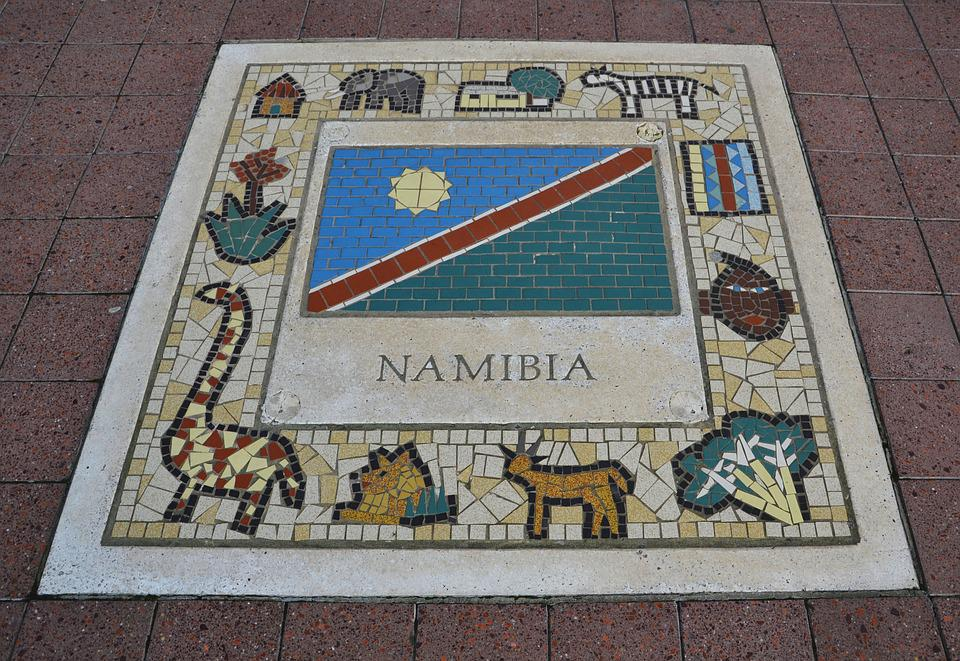Namibia, Team Emblem, Flag, Ball, Color, Competition