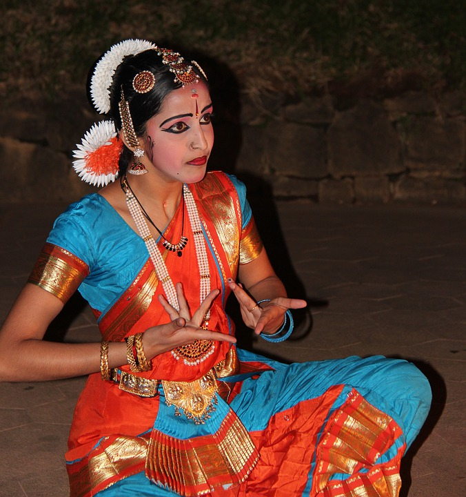 Dancer, Frauf, Tradition, Garment, Colorful, Color