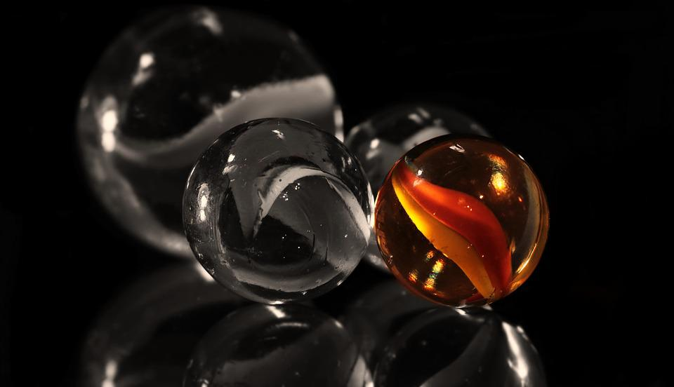 Marbles, Glaskugeln, Glass Marbles, About, Color, S W