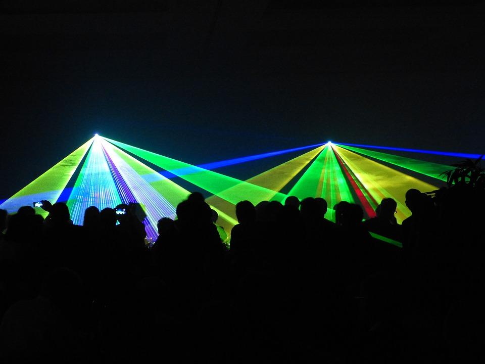 Laser, Show, Laser Show, Colorful, Color, Light