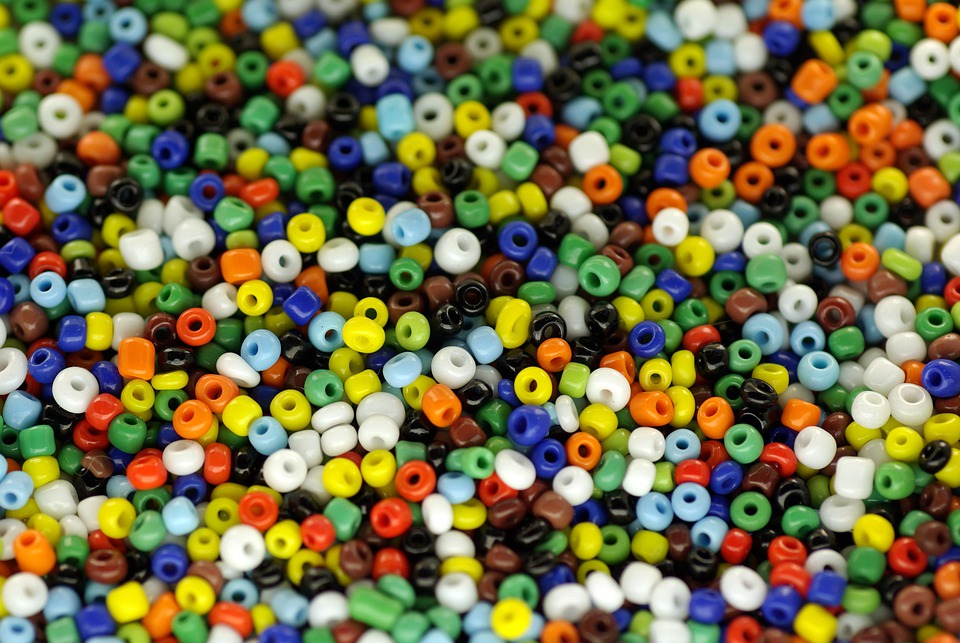 Beads, Colorful, Macro, Many, Color, Tinker