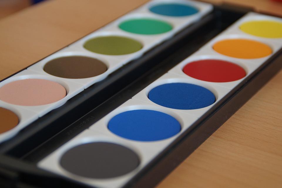 Paint Boxes, Watercolor, Color Palette, Paint, Painting