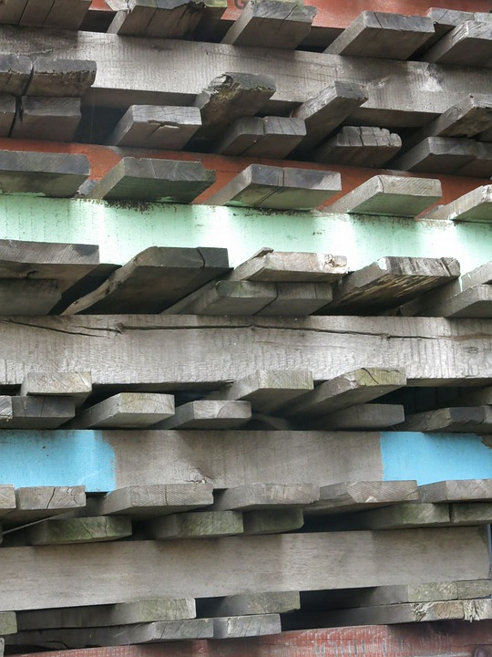 Pallets, Wooden Pallets, Color, Wood, Port, Weathered
