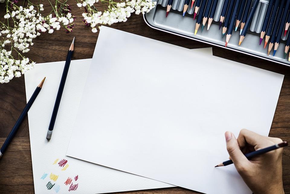 Paper, Art, Artist, Bright, Closeup, Color, Colorful