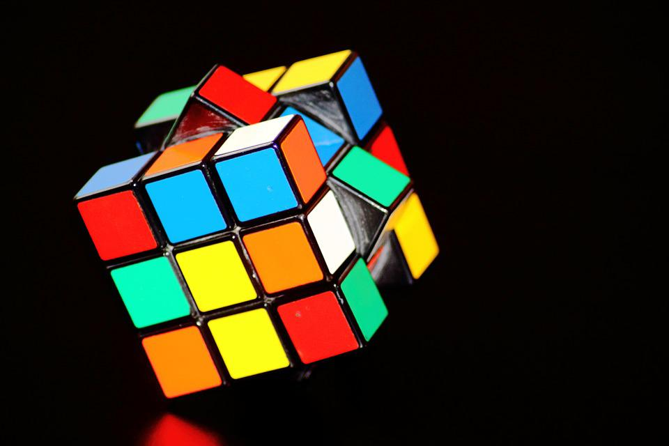 Magic Cube, Cube, Puzzle, Play, Concentration, Color