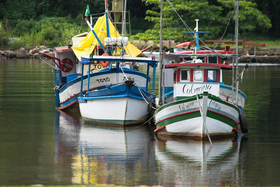 Boats, Colorful, Brazil, Summer, Ship, Color, Vacation