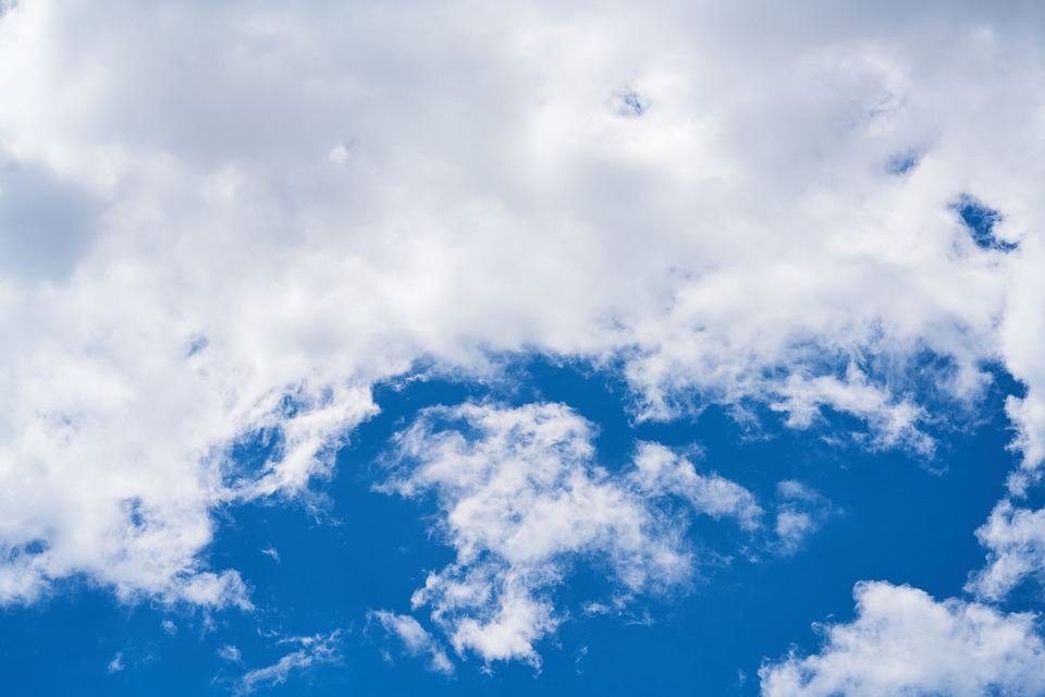 Cloud, Blue, Sky, Clouds, Nature, Summer, Air, Color