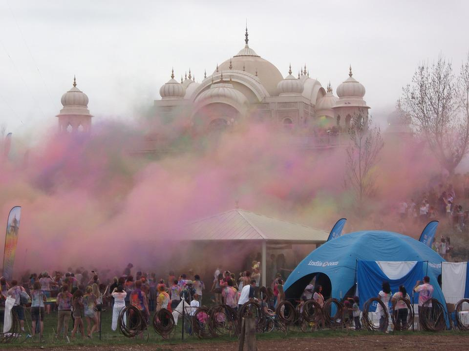 Holi, Indian, Color, Traditional, Asia, Colorful
