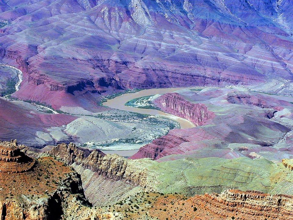 Grand Canyon, River, Colorado River, Colorado, Gorge