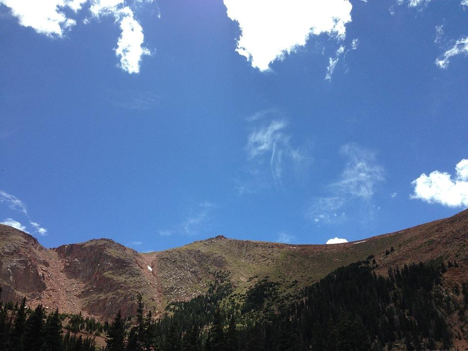 Mountain, Colorado, Landscape, Scenic, Sky