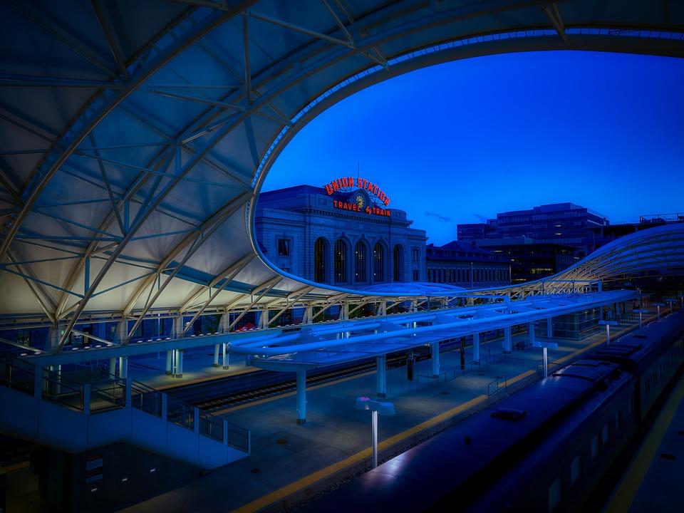 Union Station, Denver, Colorado, Train, Transportation