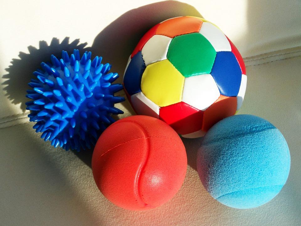 Balls, Colored Balls, Spherical Shapes