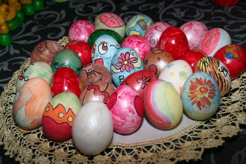 Eggs, Easter, Colored, Colorful Easter Eggs