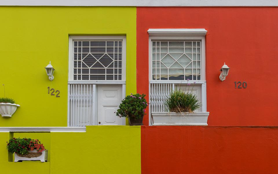 Colorful, Houses, Architecture, Property, Travel