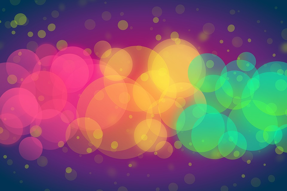 Bokeh, Background, Texture, Colorful