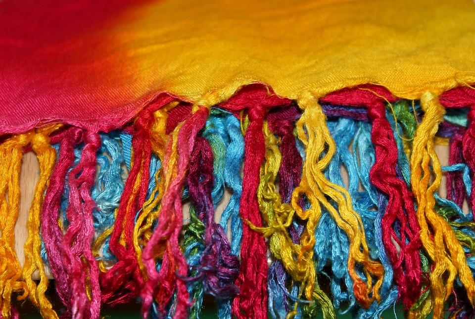 Brush, Shawl, Colorful, Clothing, Textile, Colors