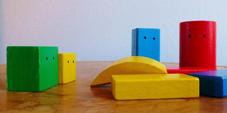 Building Blocks, Children Toys, Build, Colorful