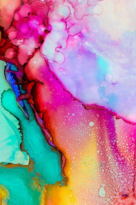 Art, Watercolor, Color, Colorful, Painting, Paint