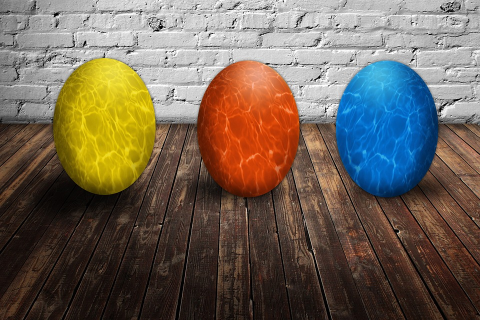 Easter, Easter Eggs, Colorful, Color