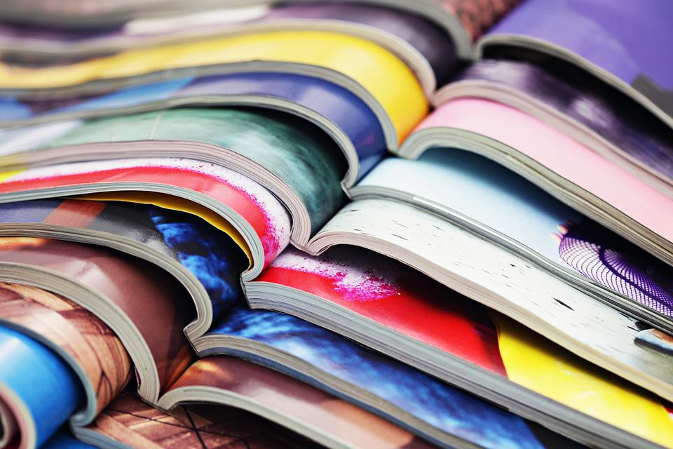 Magazine, Colors, Media, Page, Colorful