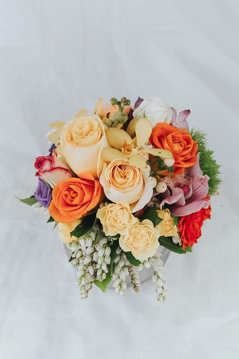 Free photo Colorful Colourful Roses Summer Flowers Bouquet - Max Pixel