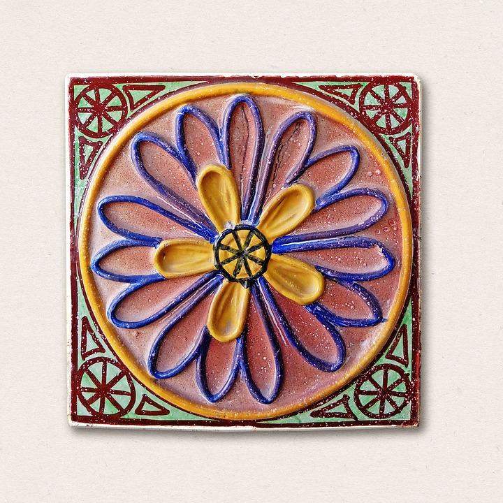 Tile, Mosaic, Decoration, Crafts, Spain, Colorful