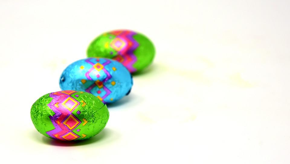 Easter, Easter Eggs, Chocolate, Colorful, Happy Easter