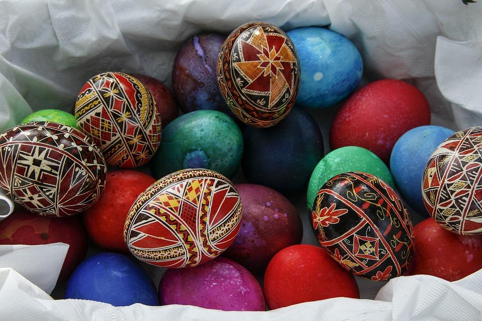 Easter Egg, Painted Egg, Decoration, Colorful, Symbol