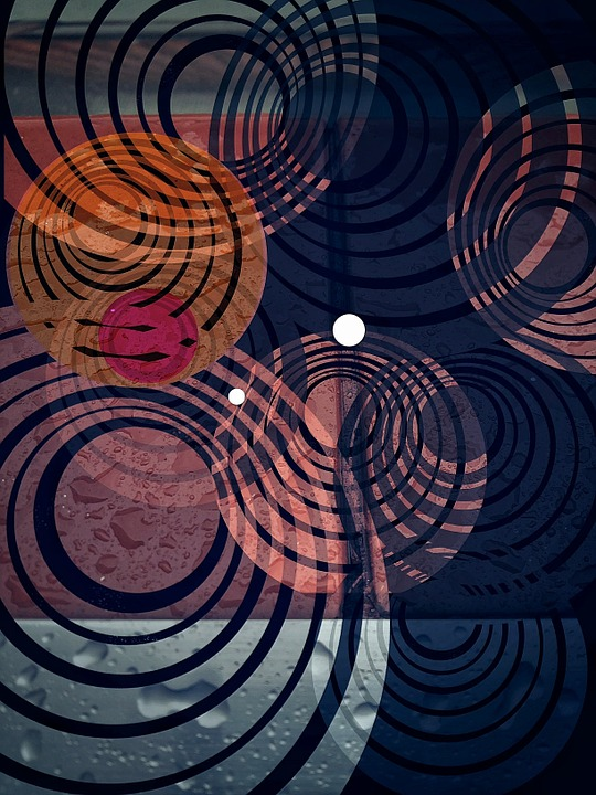 Contents, Fractal, Geometric, Frame, Colorful, Circles
