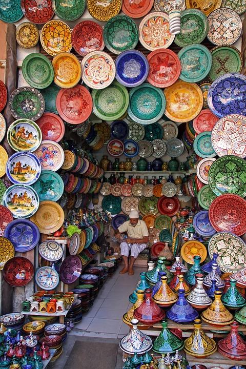 Marrakech, Morocco, Market, Travel, Colorful, Handmade