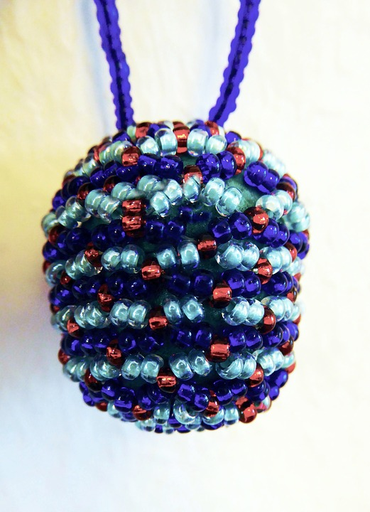 Easter, Easter Egg, Happy Easter, Beads, Colorful