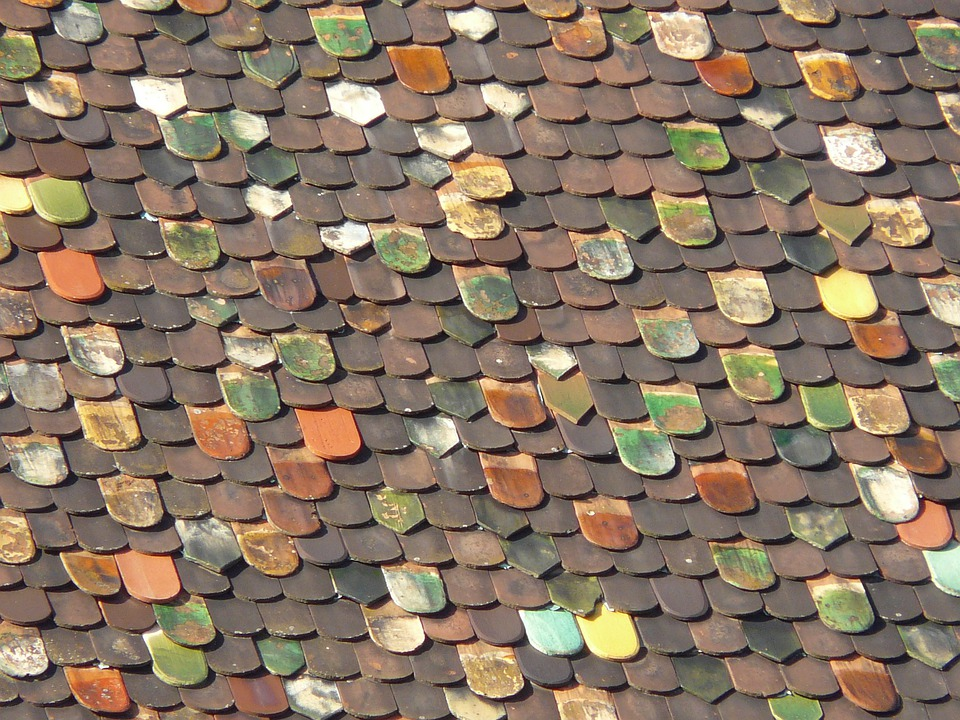 Roof, Roofing, Colorful, Historically, Color