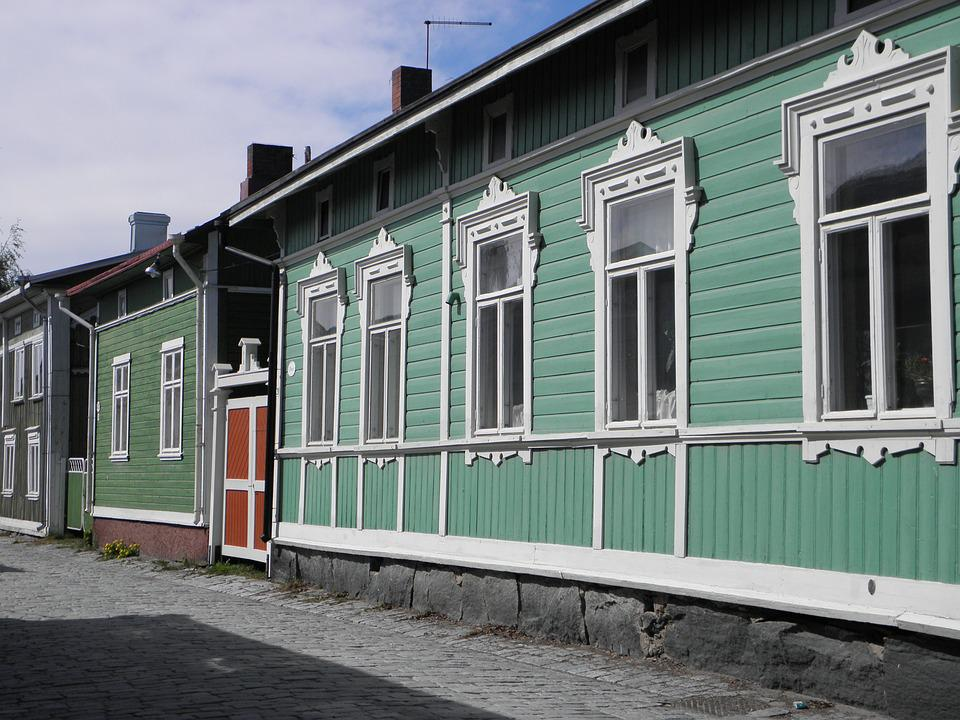 Homes, Old, Colorful, Architecture, Building