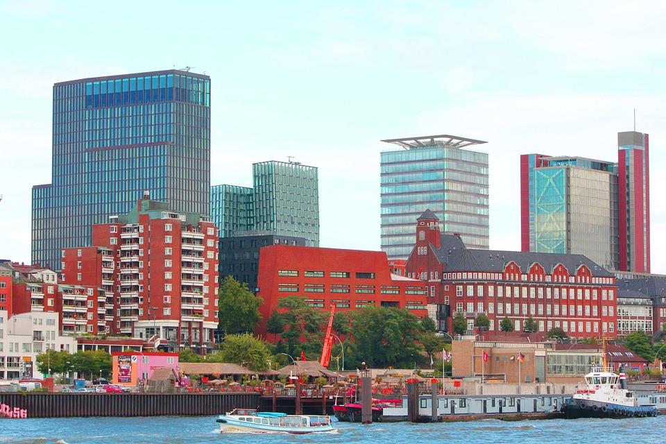 Facades, Harbor Promenade, Colorful, Homes