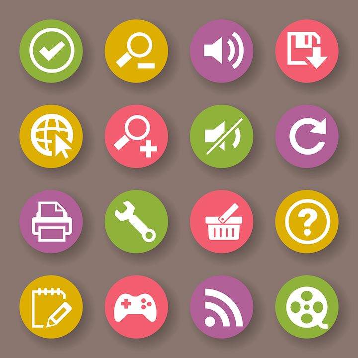 Logo, Icon, Icon Collection, Flat, Jongno, Colorful