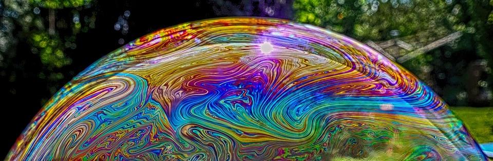 Soap Bubble, Color, Colorful, Iridescent, Kunterbunt