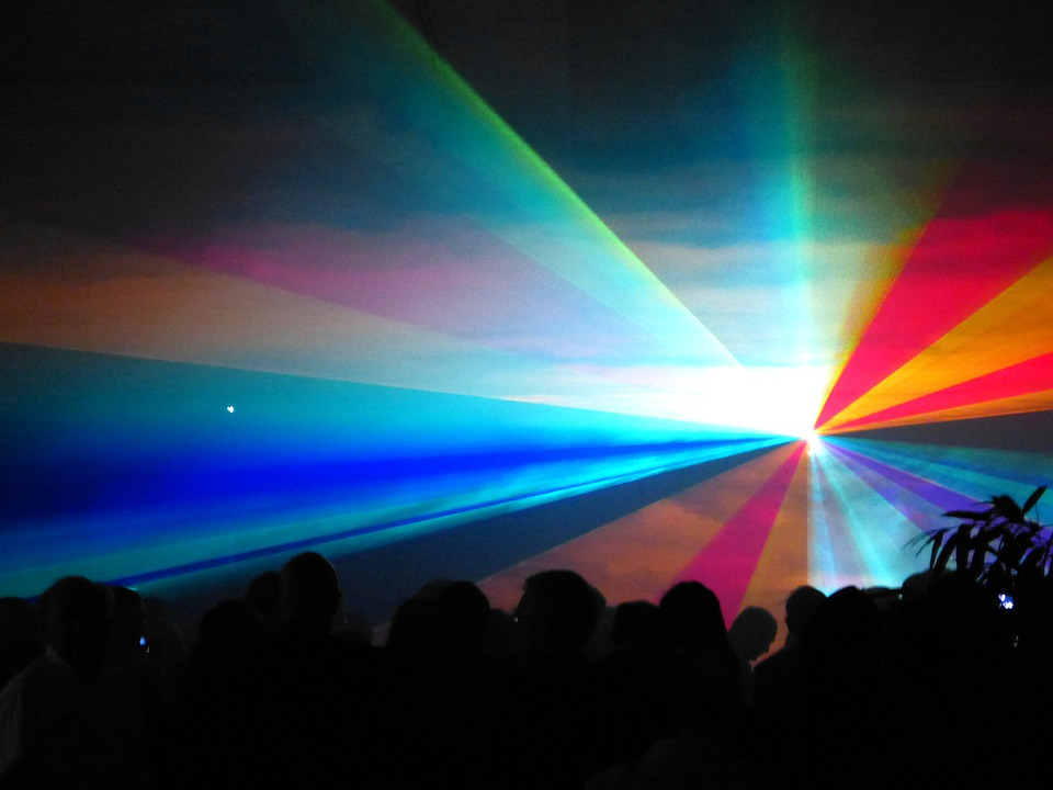 Laser, Show, Laser Show, Colorful, Color, Light