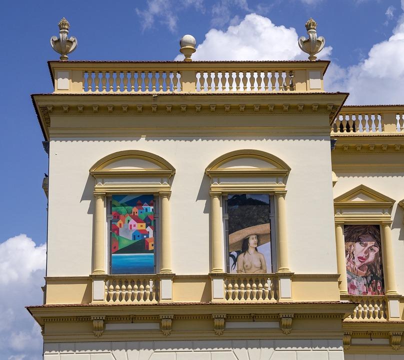 Window, Arte, Light, Artistic, Architecture, Colorful
