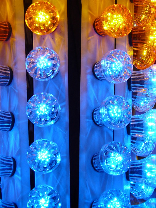 Light Bulbs, Lighting, Lights, Lichterkette, Colorful