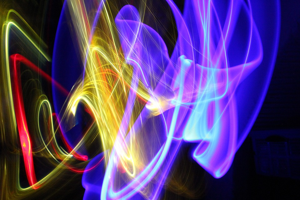 Lights, Light, Colorful, Abstract, Mood, Long Exposure