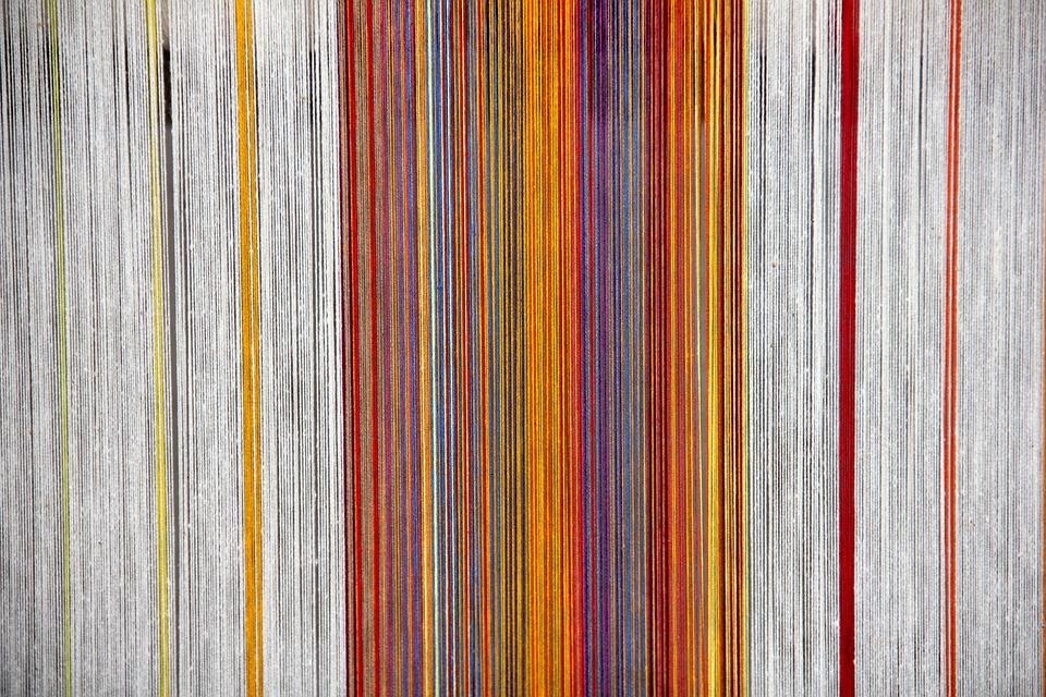 Loom, Thread, Threads, Hand Labor, Color, Colorful