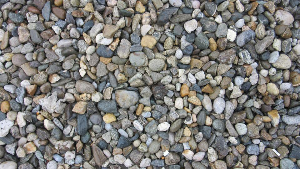 Stones, Colorful, Many, Pebbles, Color, Pattern