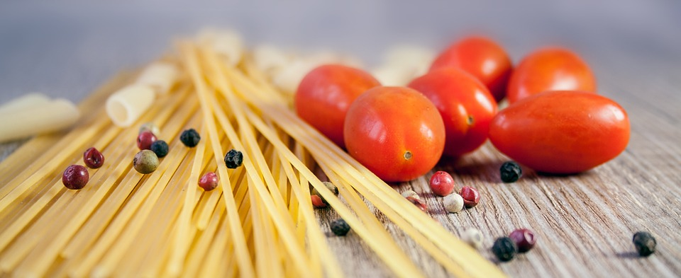 Pasta, Noodles, Cook, Tomato, Eat, Colorful, Food