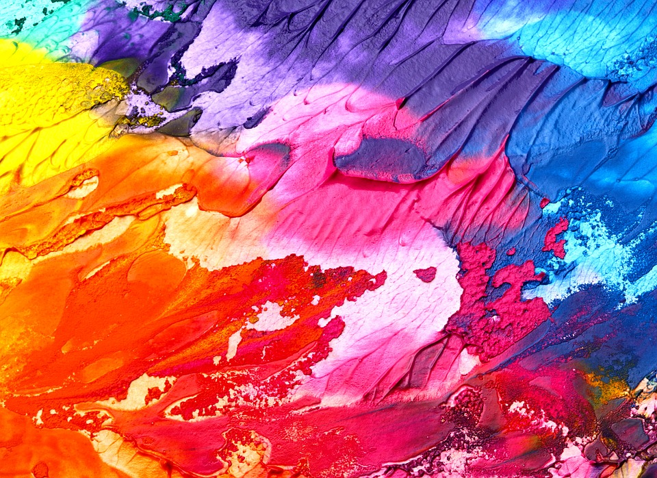 Colorful, Painting, Background, Abstract, Texture