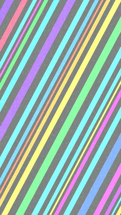 Stripes, Pastel, Colorful, Texture, Diagonal