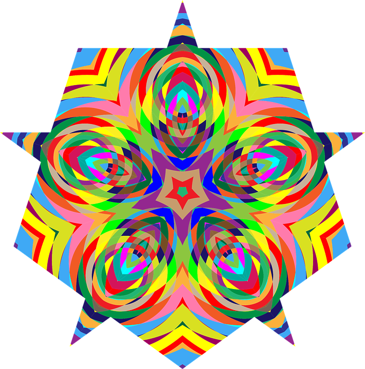 Colorful, Chromatic, Psychedelic, Prismatic, Rainbow