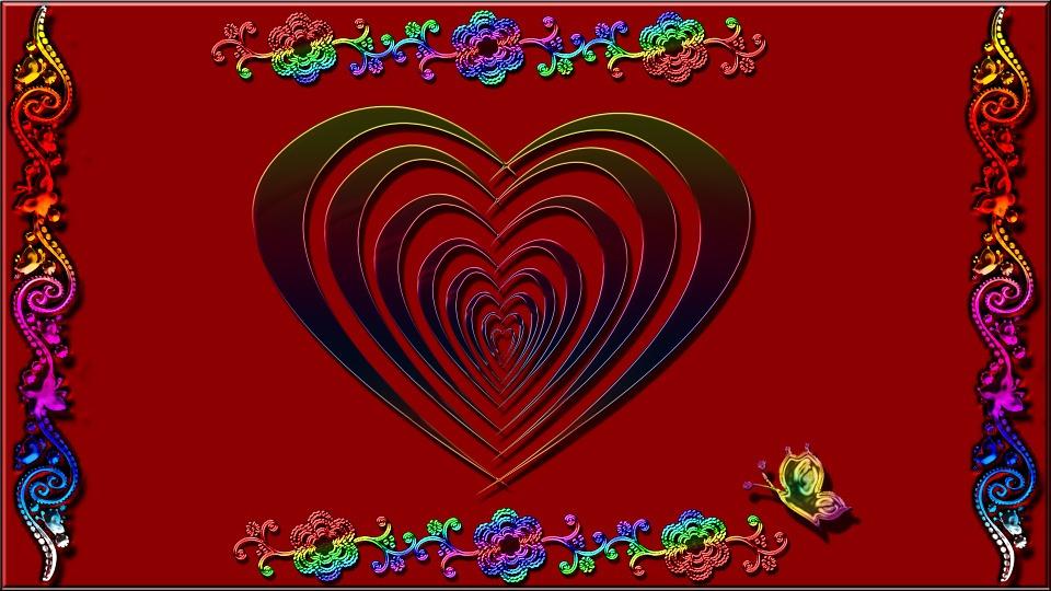 Red, Heart, Colorful, Love, Shape, Heart Shape, Symbol