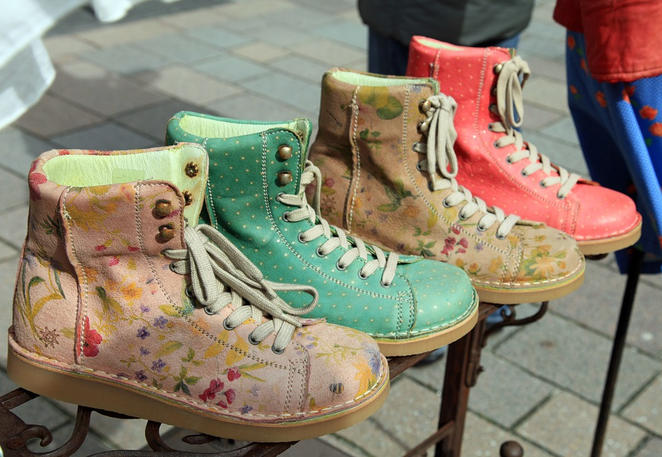Shoes, Boots, Colorful