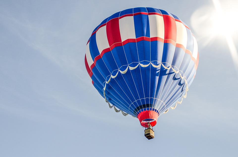 Hot, Air, Balloon, Sky, Flying, Colorful, Floating